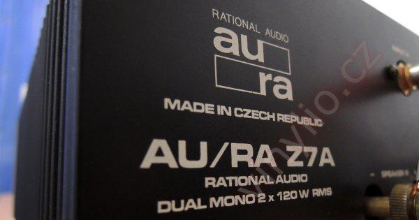 Zosilňovač Rational Audio Au/Ra Z7A - nehrá jeden kanál