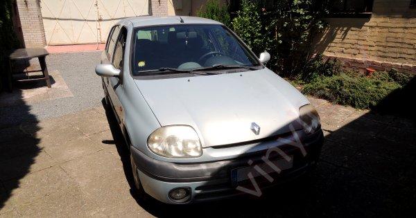 Renault Clio 1.4 16V - práca pre prvého platiaceho zákazníka