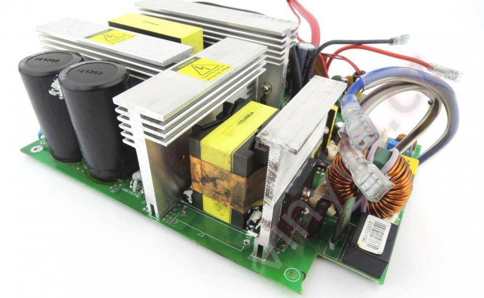 Laboratórny zdroj HCS-3600 - vyčistený DPS s chladičmi