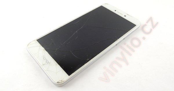 Huawei Honor 8 Lite - prasknuté sklo mobilného telefónu