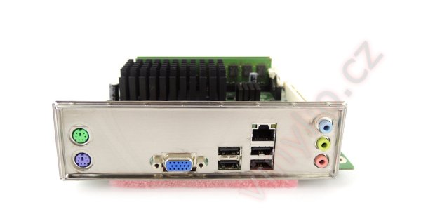 Základná doska Intel D410PT - výroba zadného krytu konektorov (IO shieldu) v domácich podmienkach