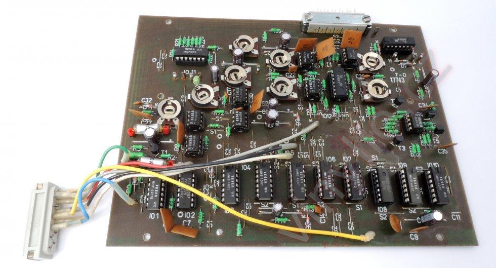 Tesla MC 600 Q - renovácia elektroniky