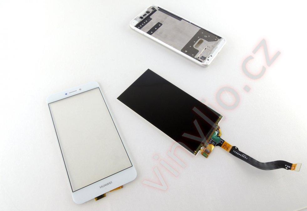 Nové dotykové sklo a vyčistený display