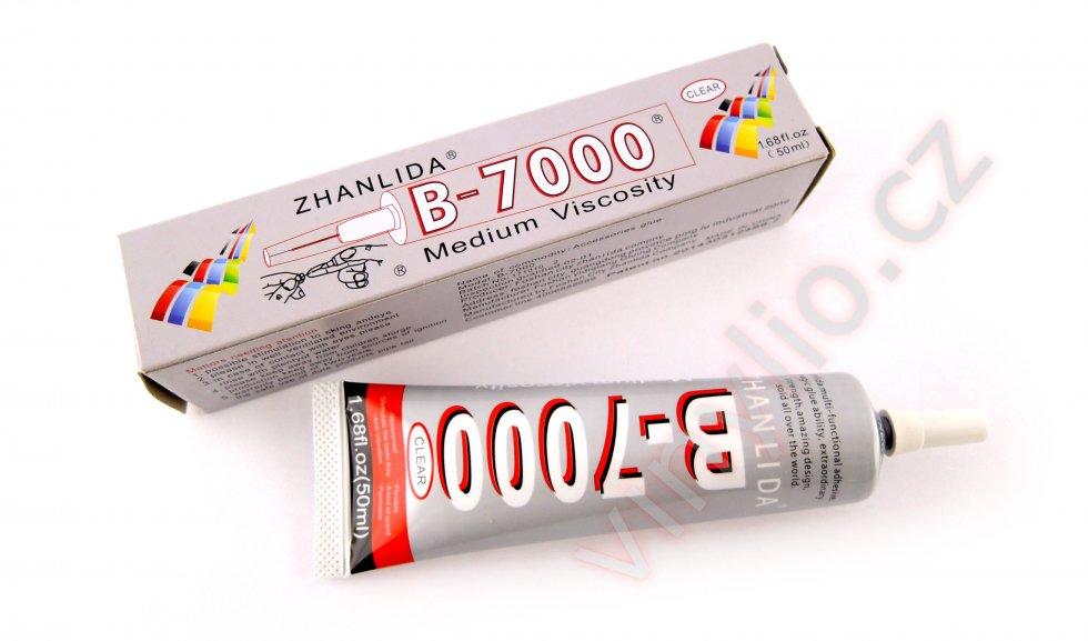 Použité lepidlo B-7000