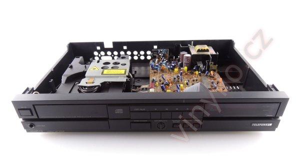 CD prehrávač Telefunken HS 685 CD - otváranie dvierok a drobnosti